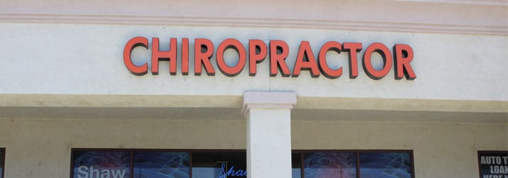 Chiropractic Temecula CA Office Building